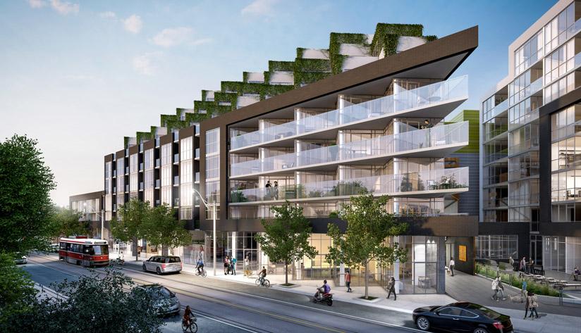 Roncesvalles Ave & Howard Park Ave,Toronto,Canada,New Condo Projects,Roncesvalles Ave & Howard Park Ave,1095