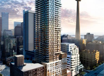 87 Peter St,Toronto,Canada,New Condo Projects,87 Peter St,1107