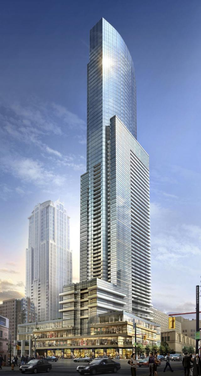 College St & Yonge St,Toronto,Canada,New Condo Projects,College St & Yonge St,1069